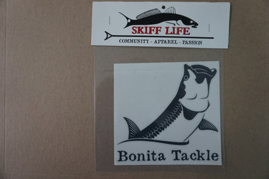 Skiff Life Launch Tarpon Vinyl Car Decal Stickers