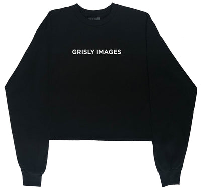 Grisly Images Crop Top Longsleeve T-Shirt