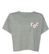 Women's Cropped Tee Grey