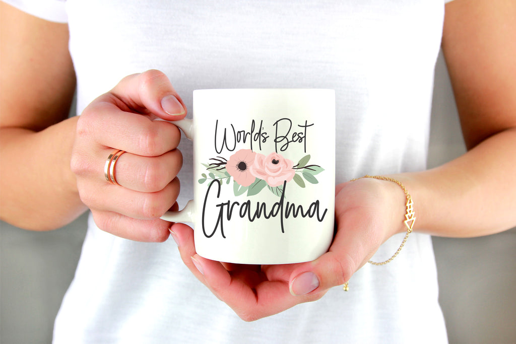 World's Best Grandma Ceramic Coffee Mug