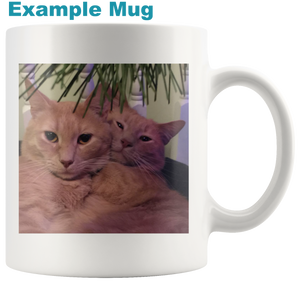 Personalized Cat Mug