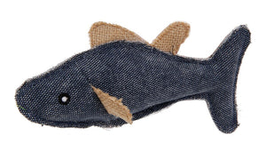 Denim Fish Catnip Toy