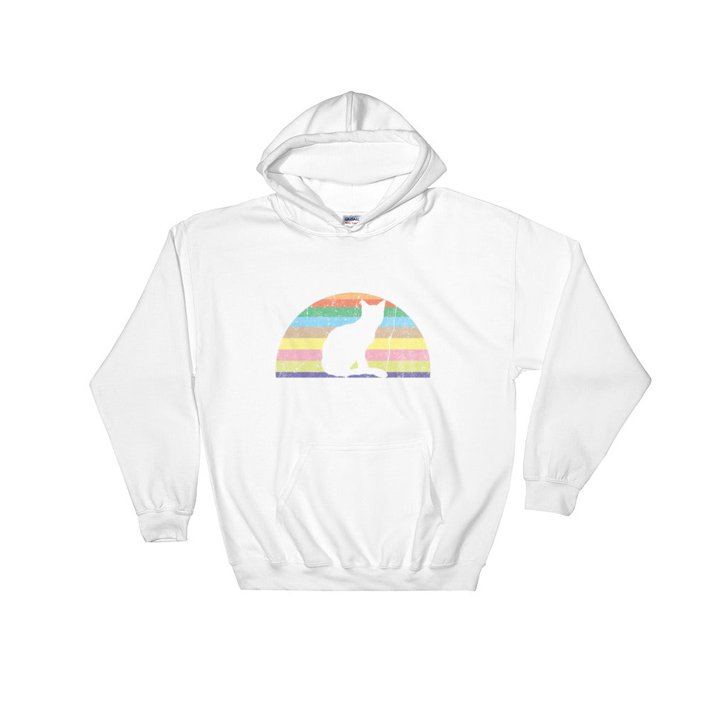 Colorful Cat Hoodie
