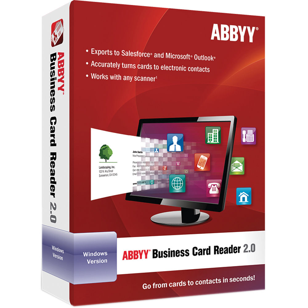 Abbyy business card reader buy software cryptoversal abbyy business card reader 20 colourmoves Images