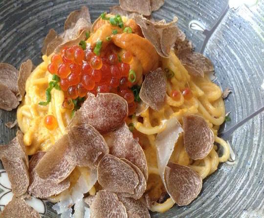 The Specialty for Your Special Person!  Uni Pasta