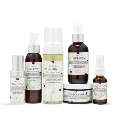 Shop,Brands,Face,Gifts & Sets - Organic Rose Phyto³ - Facial Set