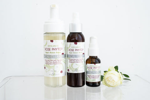 Shop,Brands,Face - Organic Rose Phyto³ Gentle Facial Cleanser