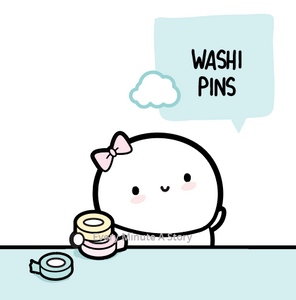 Washi Tape/Enamel Pins
