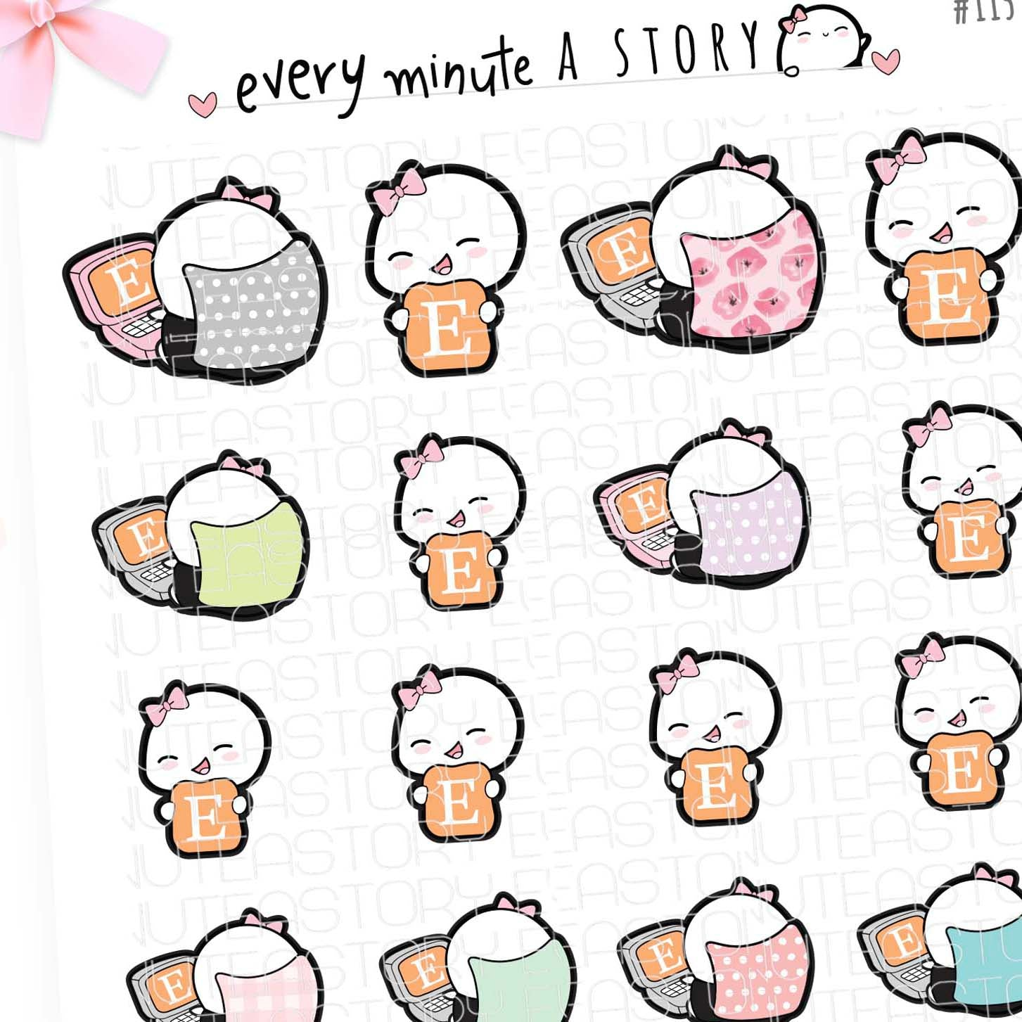 Etsy Beanies shopping Planner Stickers