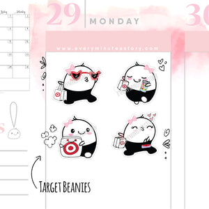 Beanie target shopping stickers - Every Minute A Story