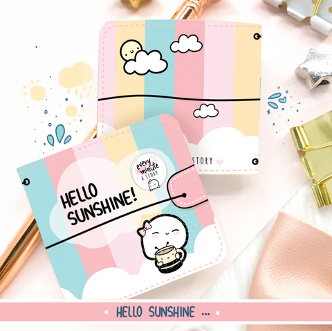Hello Sunshine doodle sticker book- 'Hello Sunshine' Collection
