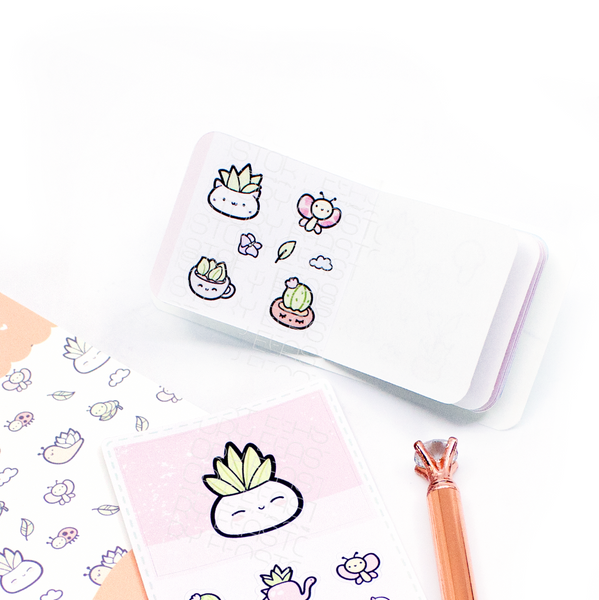 Succulents Smarty plants sticker book
