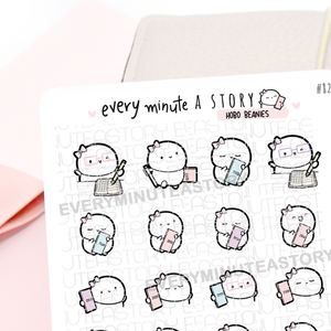 Hobonichi weeks 2020 Beanie stickers- LOW STOCK!