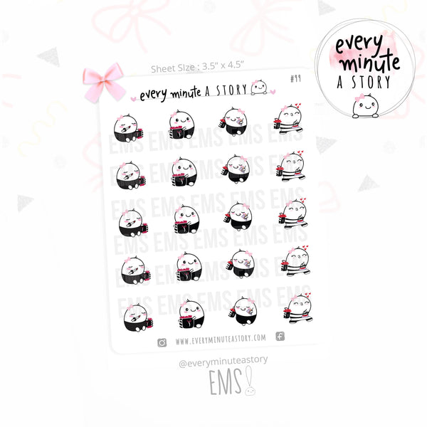 Beanie Sephora Shopping planner stickers - Every Minute A Story