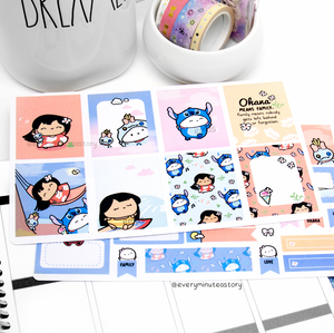 Lilo and Stitch hand-drawn kit- mini kit