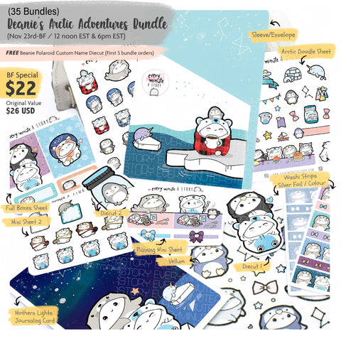 """Beanie's Arctic Adventures"" Bundle- LIMITED STOCK!!"
