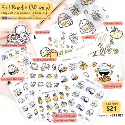 """Fall in Love""- Sale Exclusive Bundle- Last 15 left!! - Every Minute A Story"