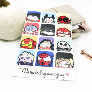 Make today Amazing- Beanie Journaling/Postcard - Every Minute A Story
