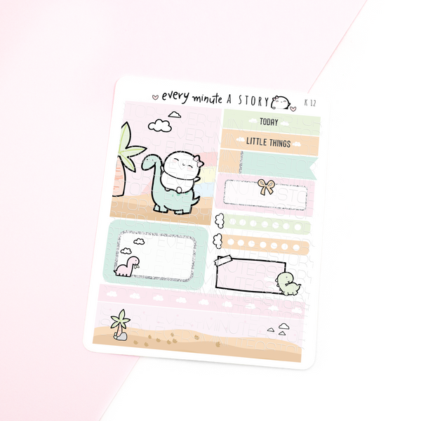 Dino Kyu-to Beanie Monthlies Kit- LOW STOCK!