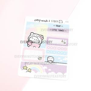 Hello Kitty Kyu-to Beanie Monthlies Kit, sanrio
