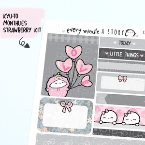 Strawberry Kyu-to Beanie Monthlies Kit- LOW STOCK!