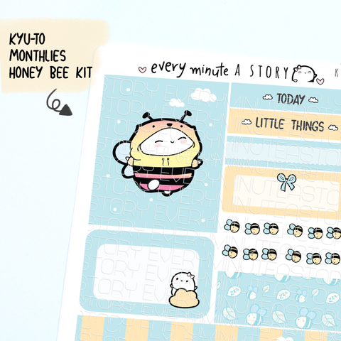 Honey Bee Kyu-to Beanie Monthlies Kit