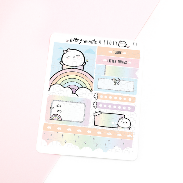 Rainbow Kyu-to Beanie Monthlies Kit