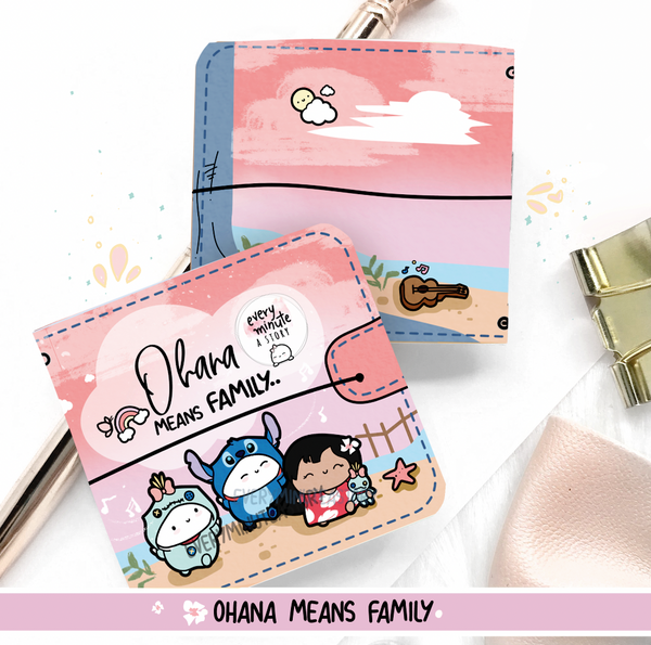'Ohana Means Family' Lilo and Stitch Sticker book and Jelly cover add on