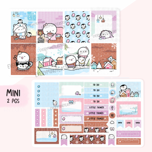 Stay cozy winter hand-drawn kit- mini and full kit