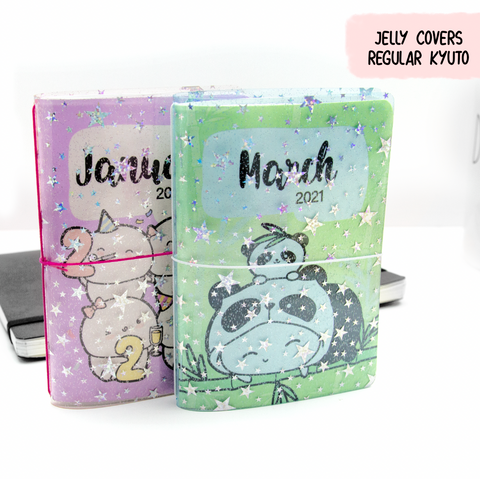 Jelly Covers for Passport Kyu-to Monthlies Insert | Limited Stock!!