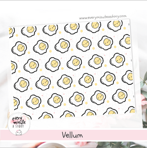 Cute Kawaii Egg Vellum - Every Minute A Story