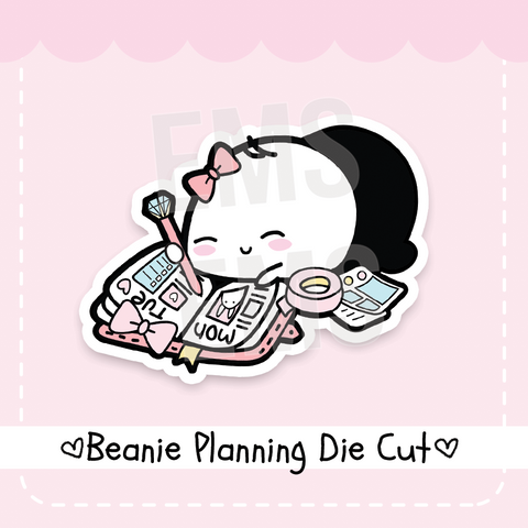 Beanie Planning die cut - Every Minute A Story
