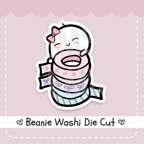 Beanie Washi die cut - Every Minute A Story