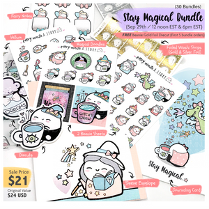 """Stay Magical"" Bundle- LIMITED STOCK!! ❤️ - Every Minute A Story"