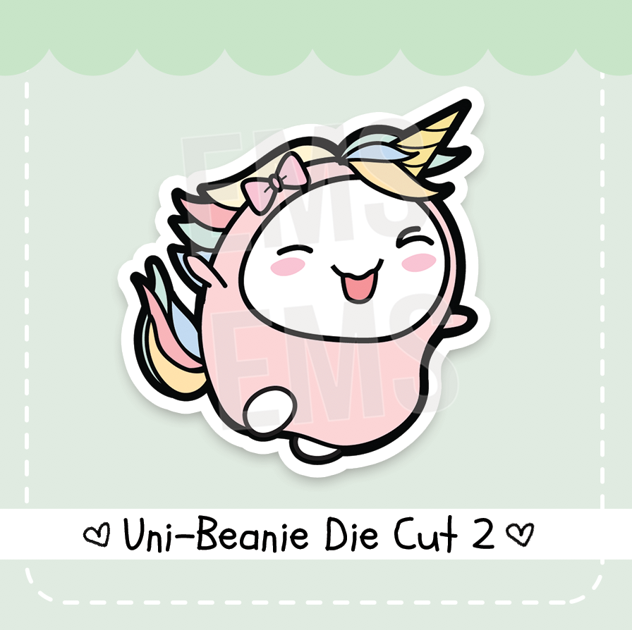 Uni-Beanie Die Cut Vol.2 - Every Minute A Story
