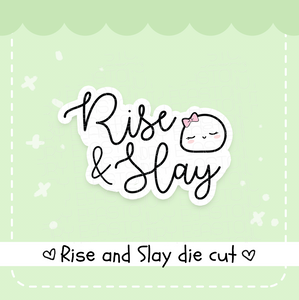 Rise and Slay Beanie die cut- CLEARANCE!