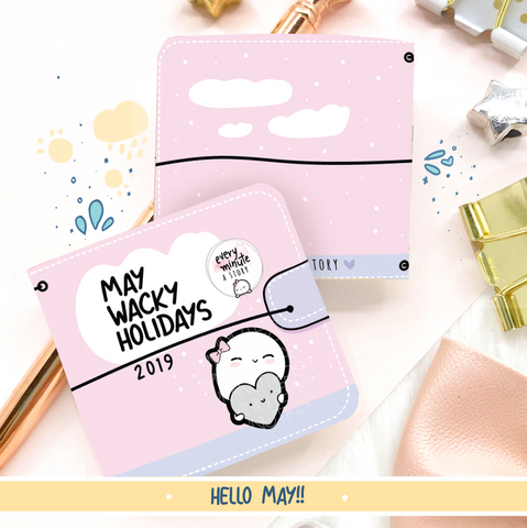 May 2019 Wacky Holidays Sticker book- LOW STOCK!