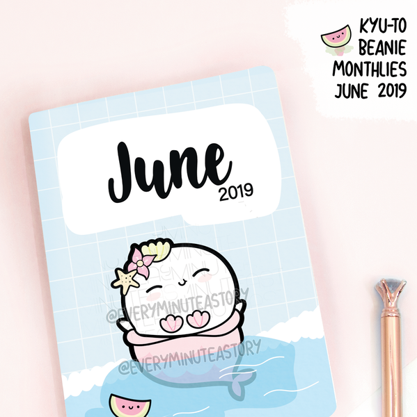 June 2019, Kyu-to Beanie Monthlies | Printed Insert, Inserts