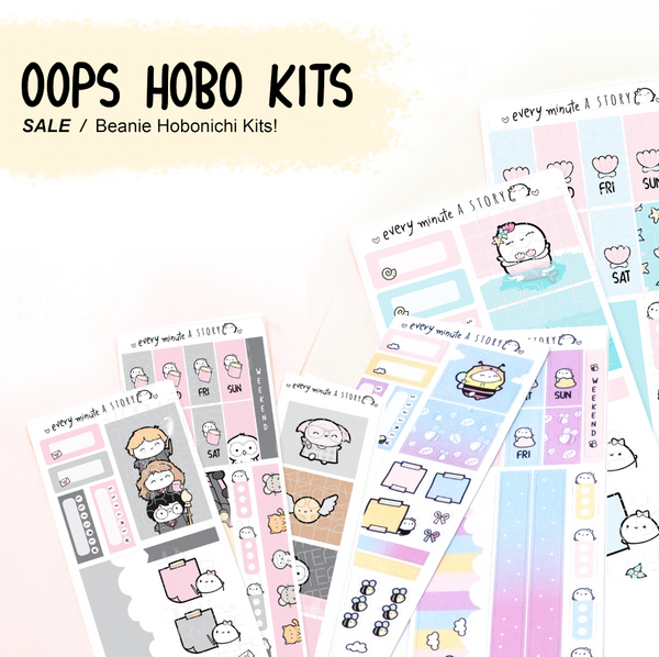 OOPS Hobonichi weeks kits- LIMITED STOCK!