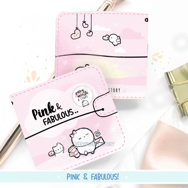 Pink and Fabulous Sticker book