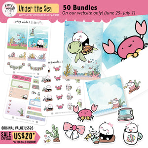 """Under the Sea""- Sale Exclusive Bundle- LIMITED STOCK!! - Every Minute A Story"