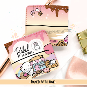 Baked with love sticker book and Jelly cover add on- LIMITED STOCK!
