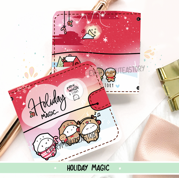 Holiday Magic Christmas Sticker book and Jelly cover add on- LOW STOCK!