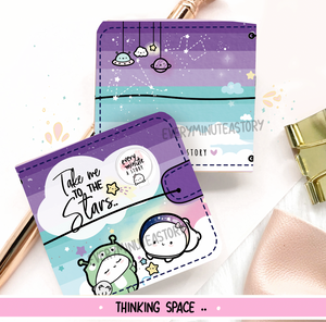 Take me to the stars space Sticker book and Jelly cover add on- LIMITED STOCK!