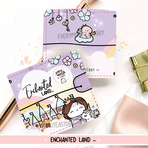 Enchanted land Sticker book and Jelly cover add on- LIMITED STOCK!
