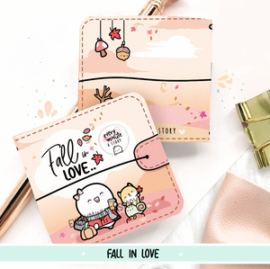 Fall in love Sticker book and Jelly cover add on