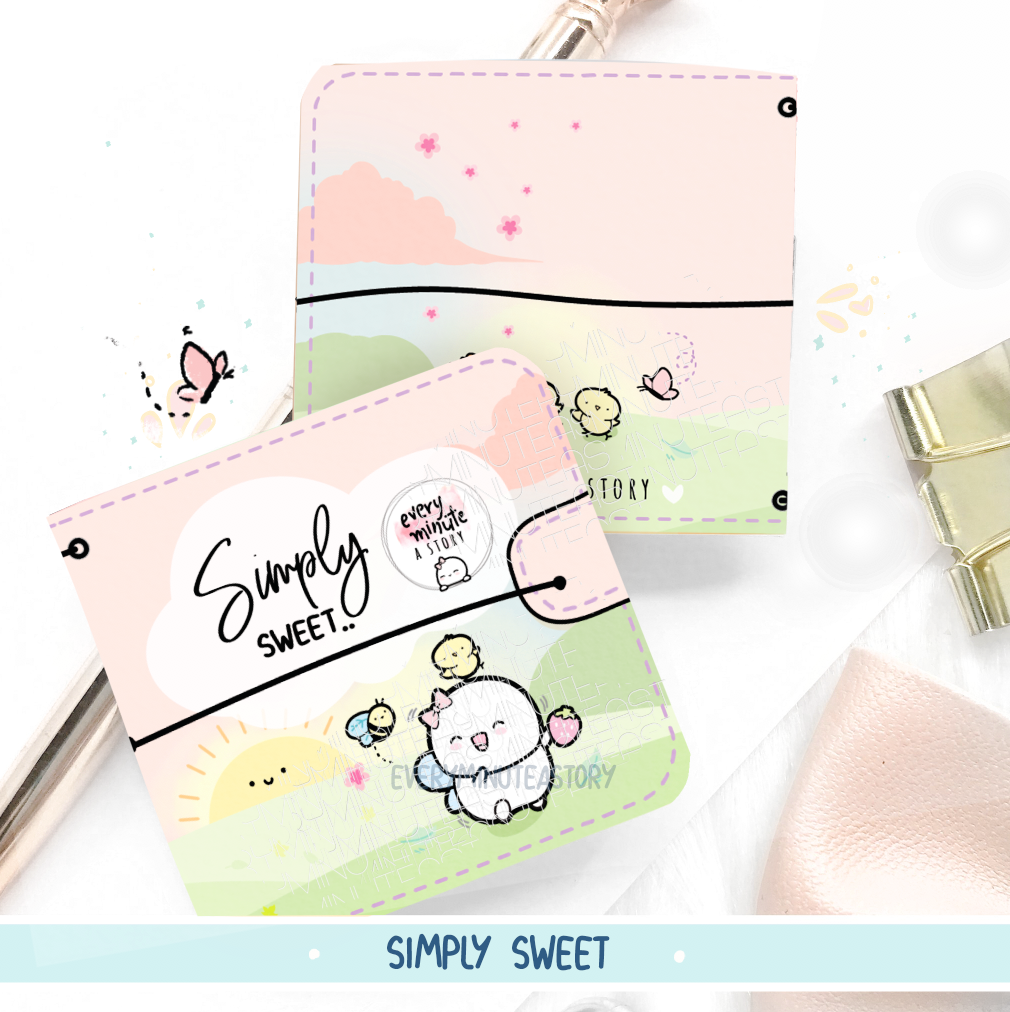 Simply Sweet Sticker book and Jelly cover
