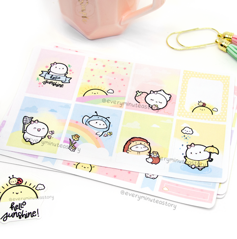 Hello Sunshine hand-drawn kit- mini and full kit