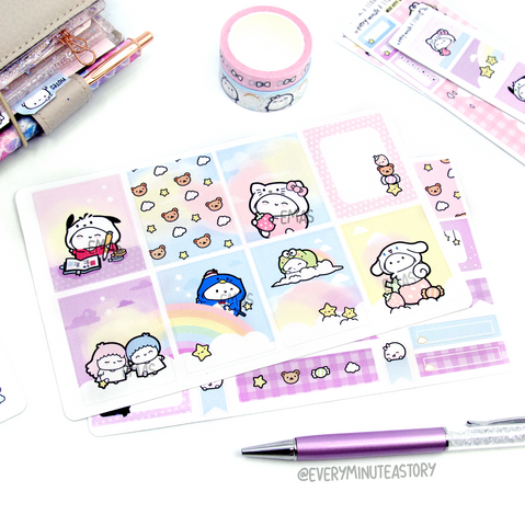 Hello Kitty and Friends Beanie kit- mini and full kit | Limited Edition