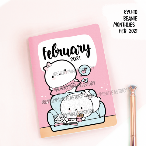 February 2021, Kyu-to Beanie Monthlies | Printed Insert, Inserts